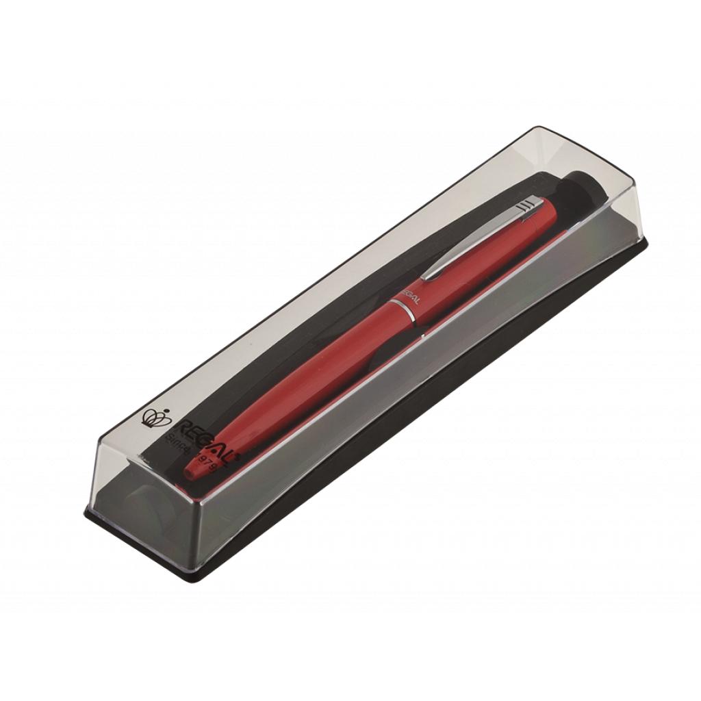 Ручка шариковая Regal в футляре PB10 Красная (R285205.PB10.B)