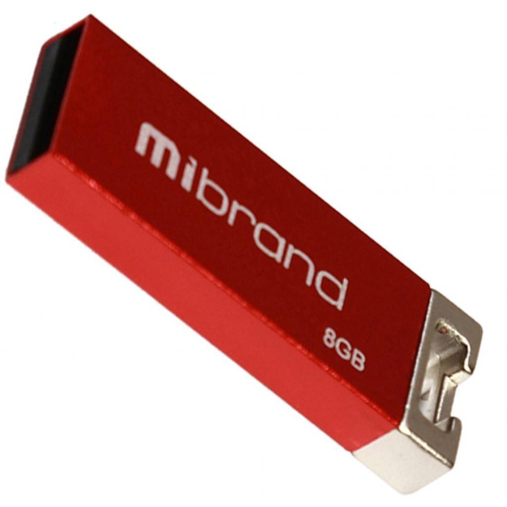 USB флеш накопитель Mibrand 8GB Сhameleon Red USB 2.0 (MI2.0/CH8U6R)