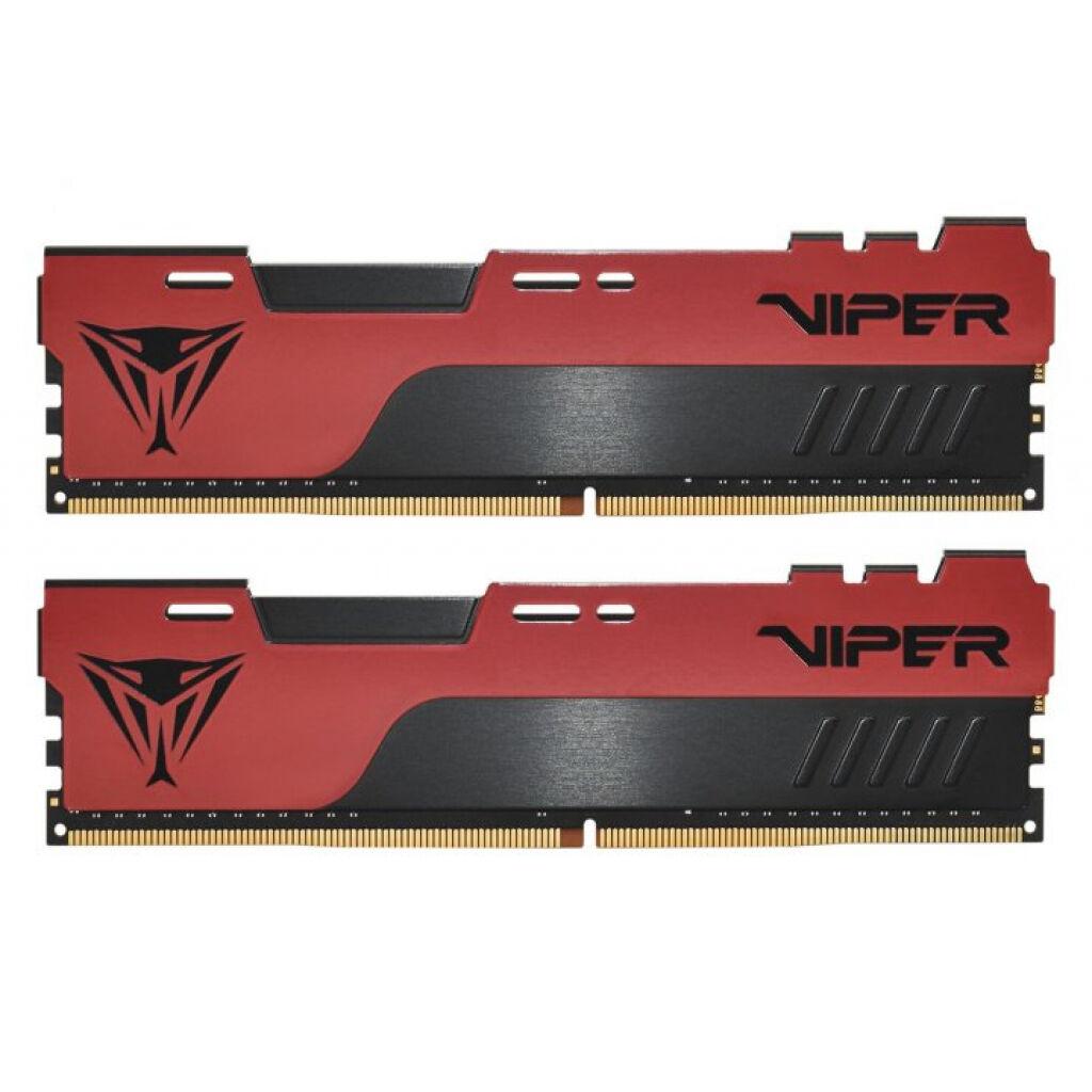 Модуль памяти для компьютера DDR4 16GB (2x8GB) 3200 MHz Viper Elite II Red Patriot (PVE2416G320C8K)