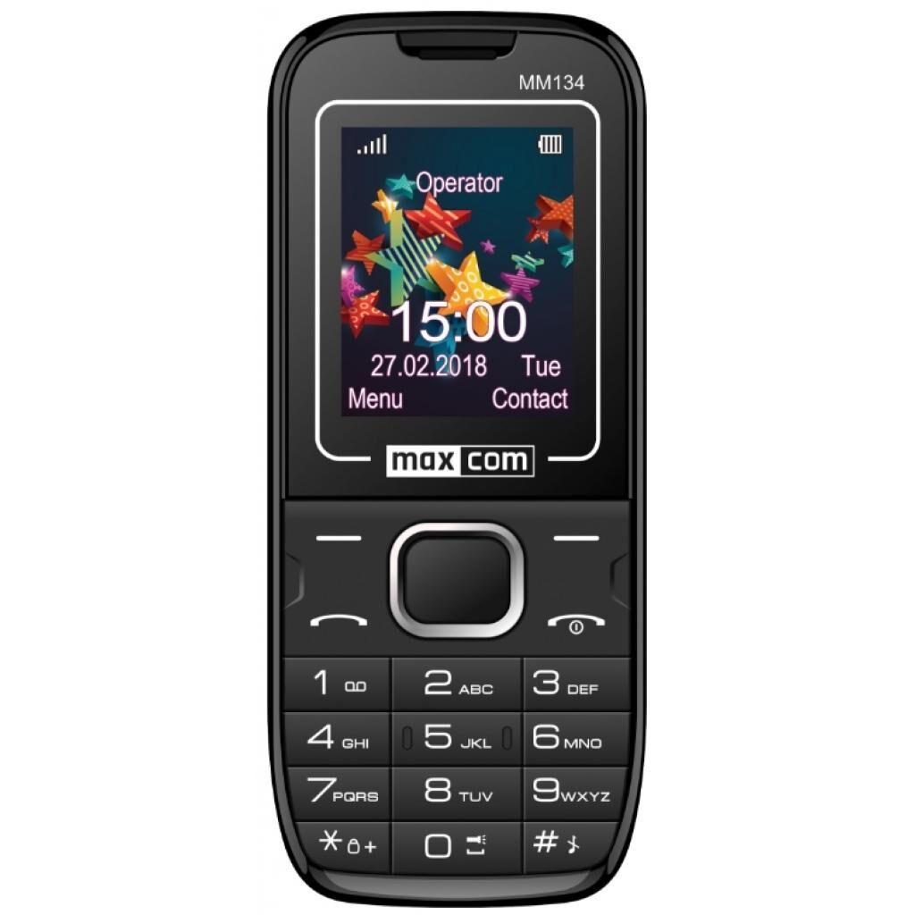 Мобильный телефон Maxcom MM134 Black