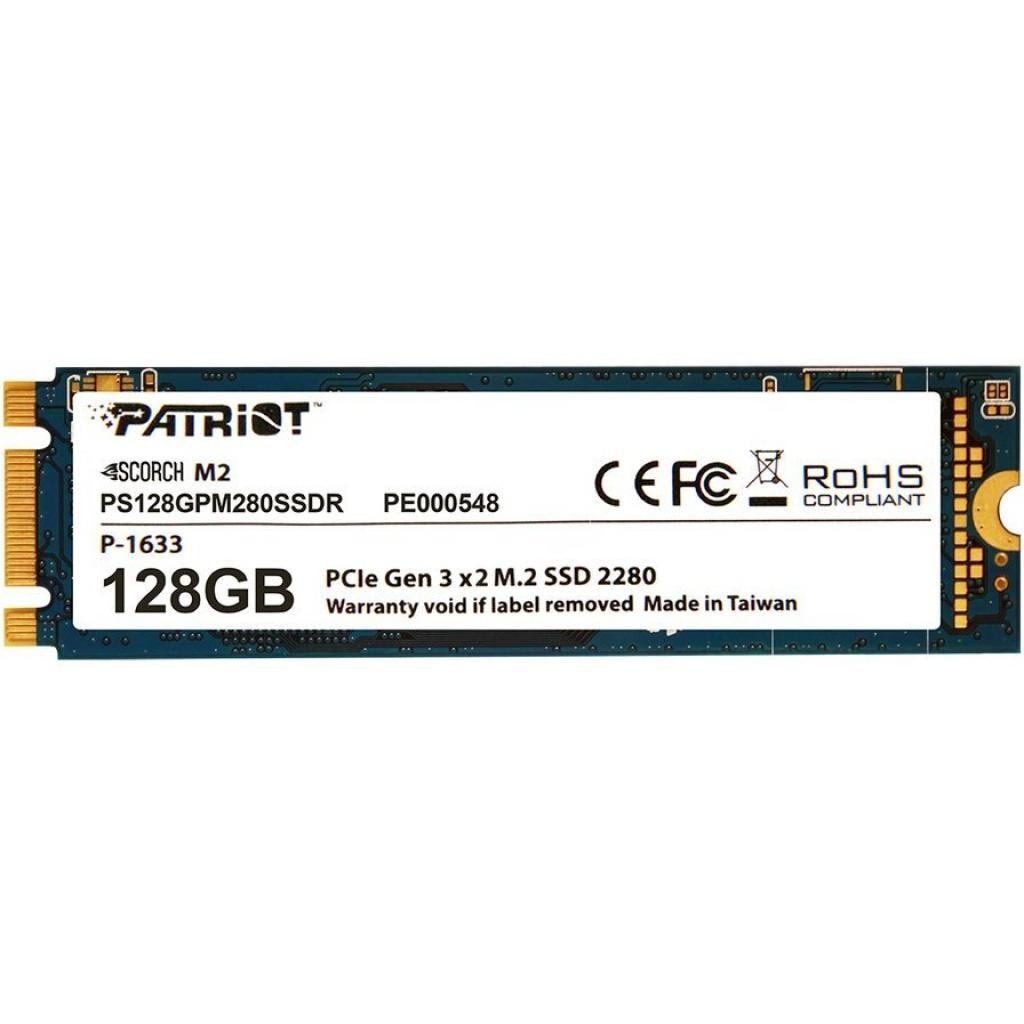 Накопитель SSD M.2 2280 128GB Patriot (PS128GPM280SSDR)