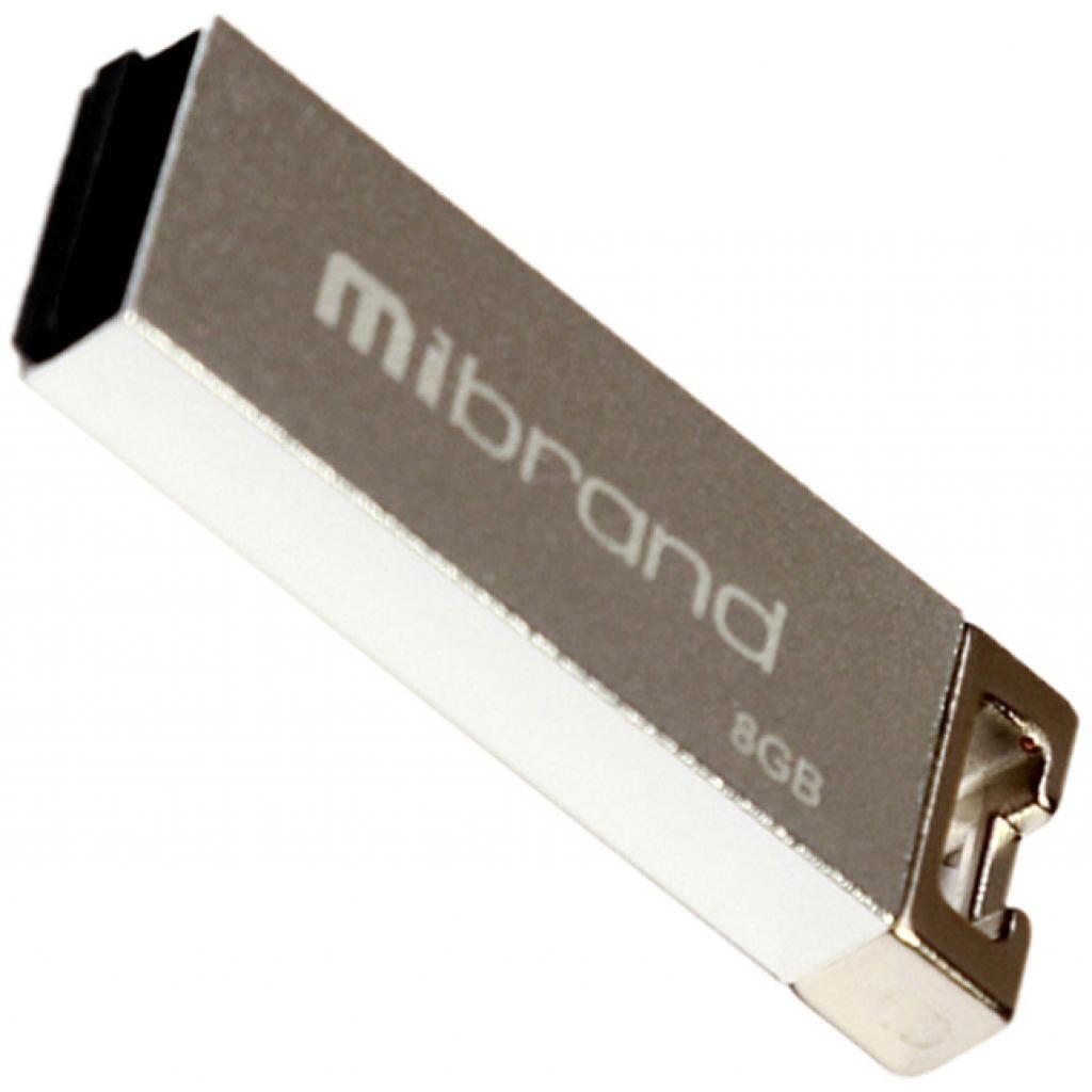 USB флеш накопитель Mibrand 8GB Сhameleon Silver USB 2.0 (MI2.0/CH8U6S)