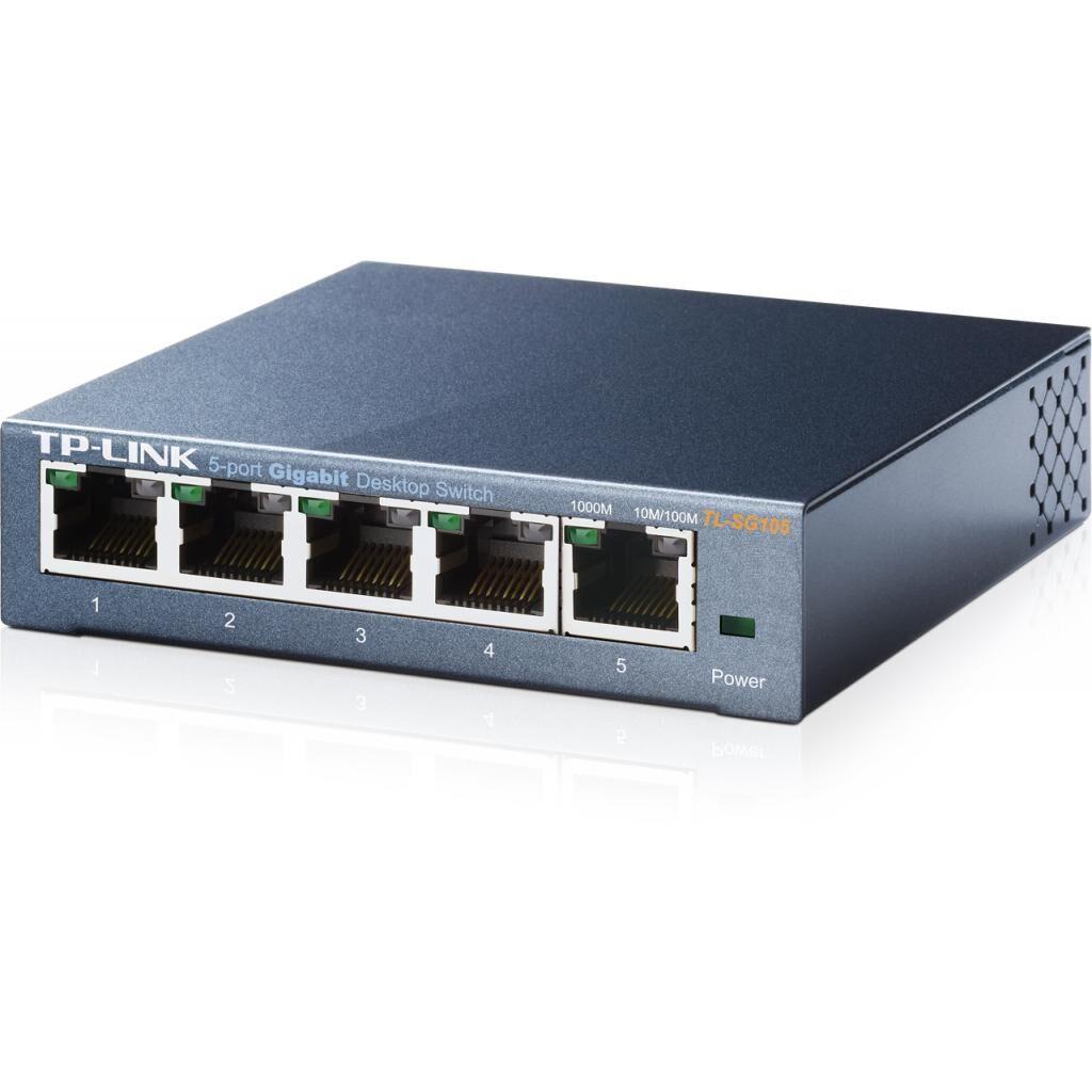 Коммутатор сетевой TP-Link TL-SG105