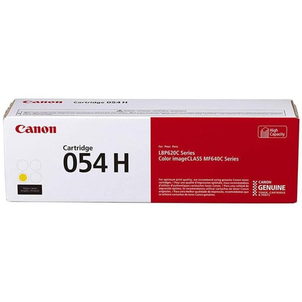Картридж Canon 054H Yellow 2.3K (3025C002)