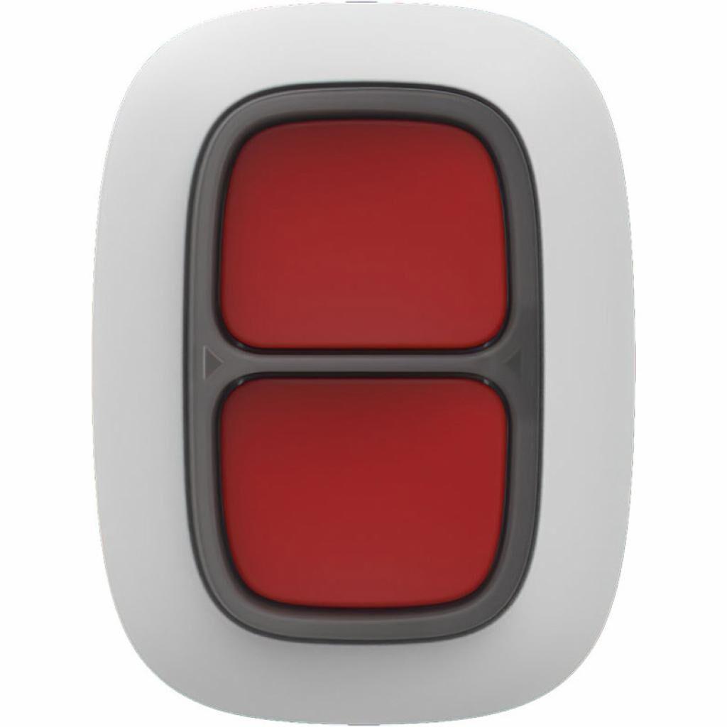 Тревожная кнопка Ajax DoubleButton біла (DoubleButton /біла)