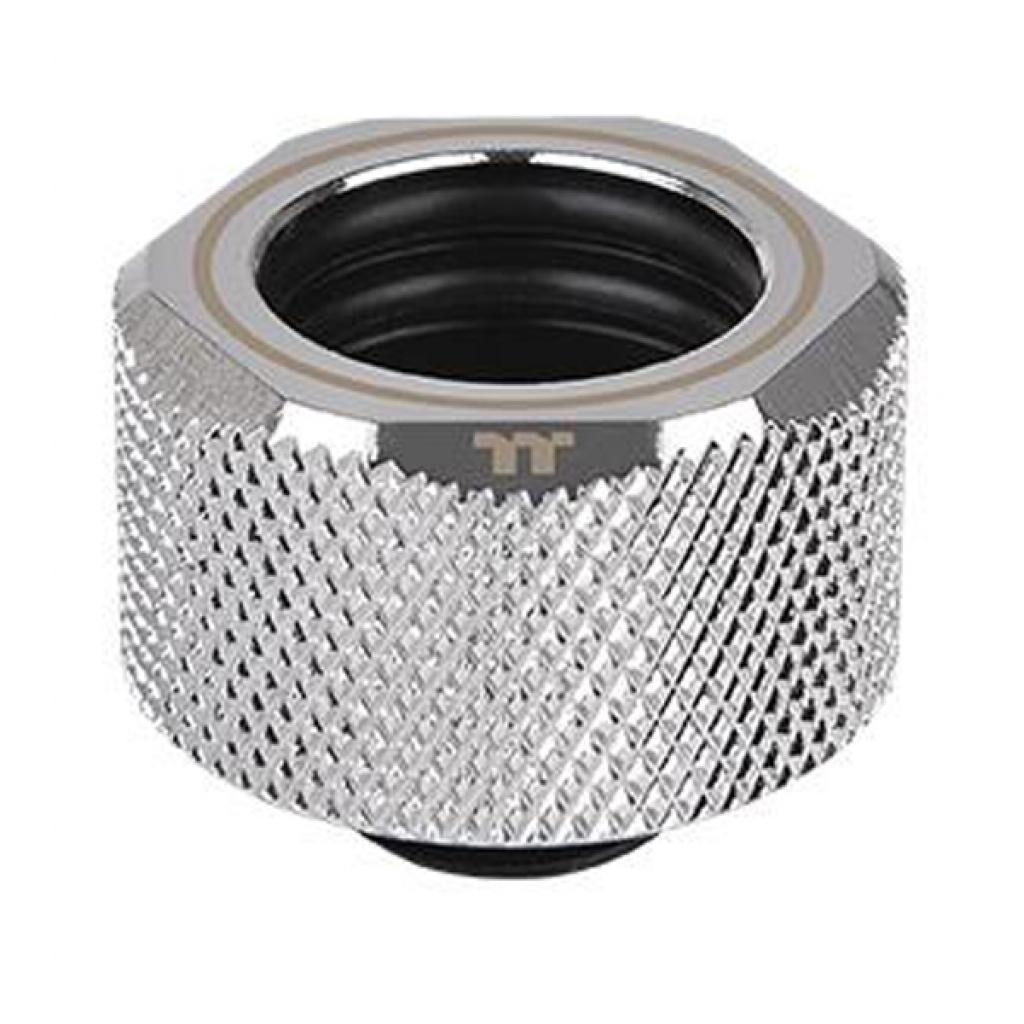 Фитинг для СВО ThermalTake Pacific C-Pro G1/4 PETG 16mm OD Compression - Chrome/DIY LCS (CL-W213-CU00SL-A)