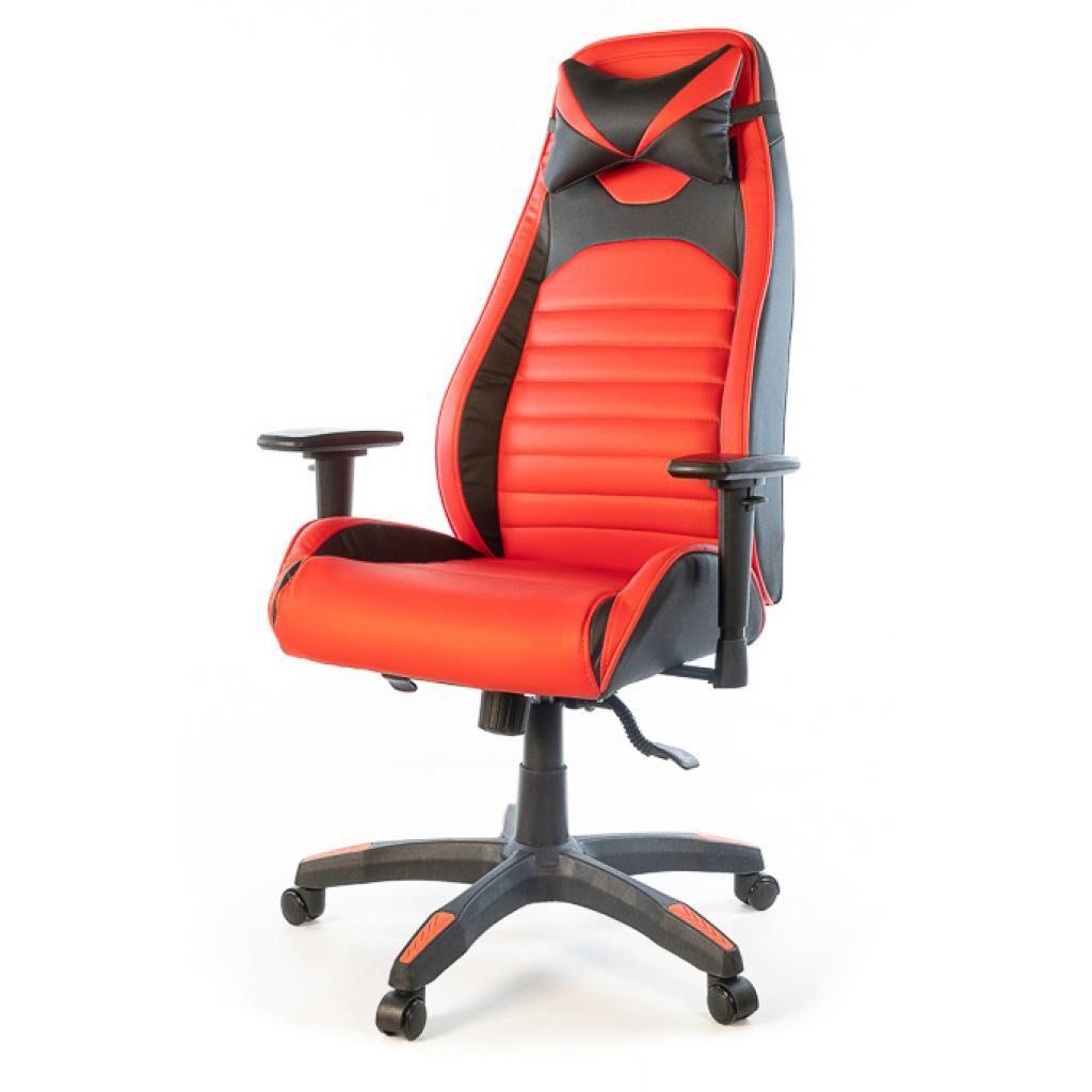 Кресло игровое Аклас Хазард PL ANF Красное (21000)