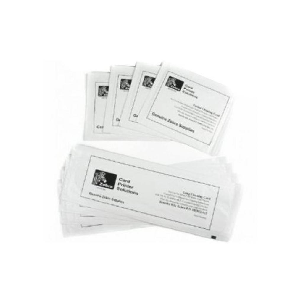 Набор для очистки Zebra для ZXP Series 1 (4 инженерные карты и 4 фидер чистящие карт (105999-101)