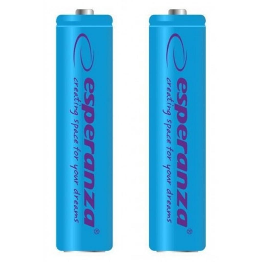 Аккумулятор Esperanza AAA 1000mAh Ni-MH * 2 blue (EZA101B)
