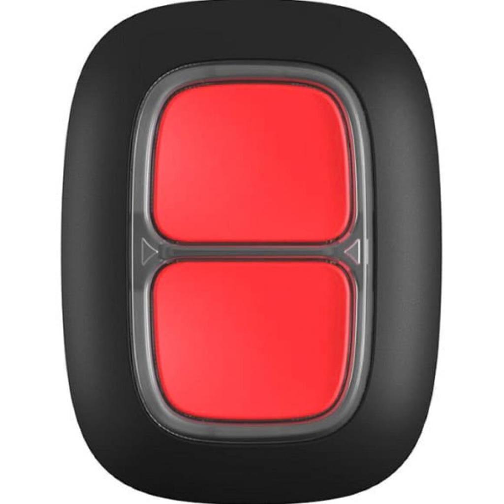 Тревожная кнопка Ajax DoubleButton чорна (DoubleButton /чорна)