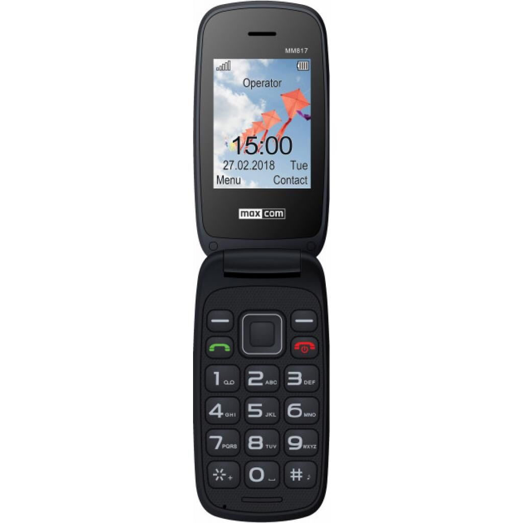 Мобильный телефон Maxcom MM817 Red