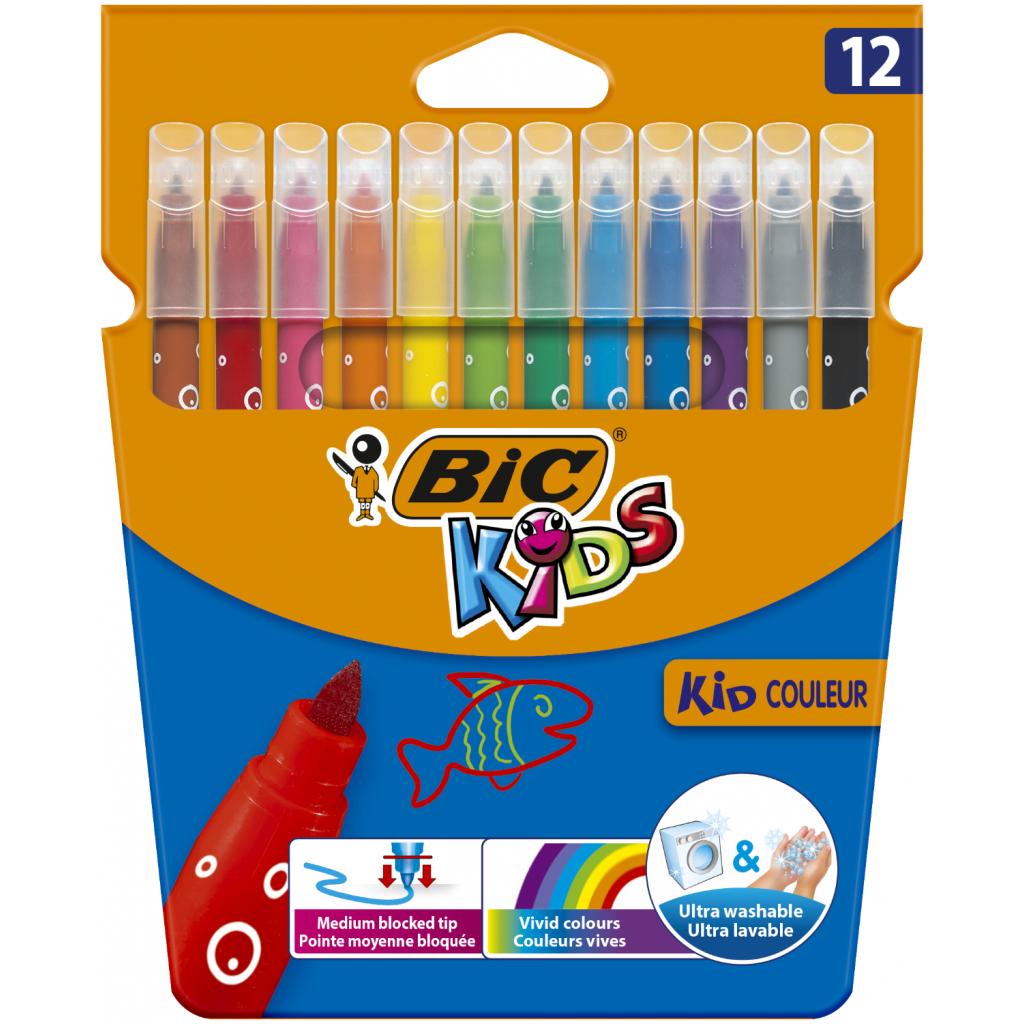 Фломастеры BIC Kid Coleour, 12 цветов (bc9202932)