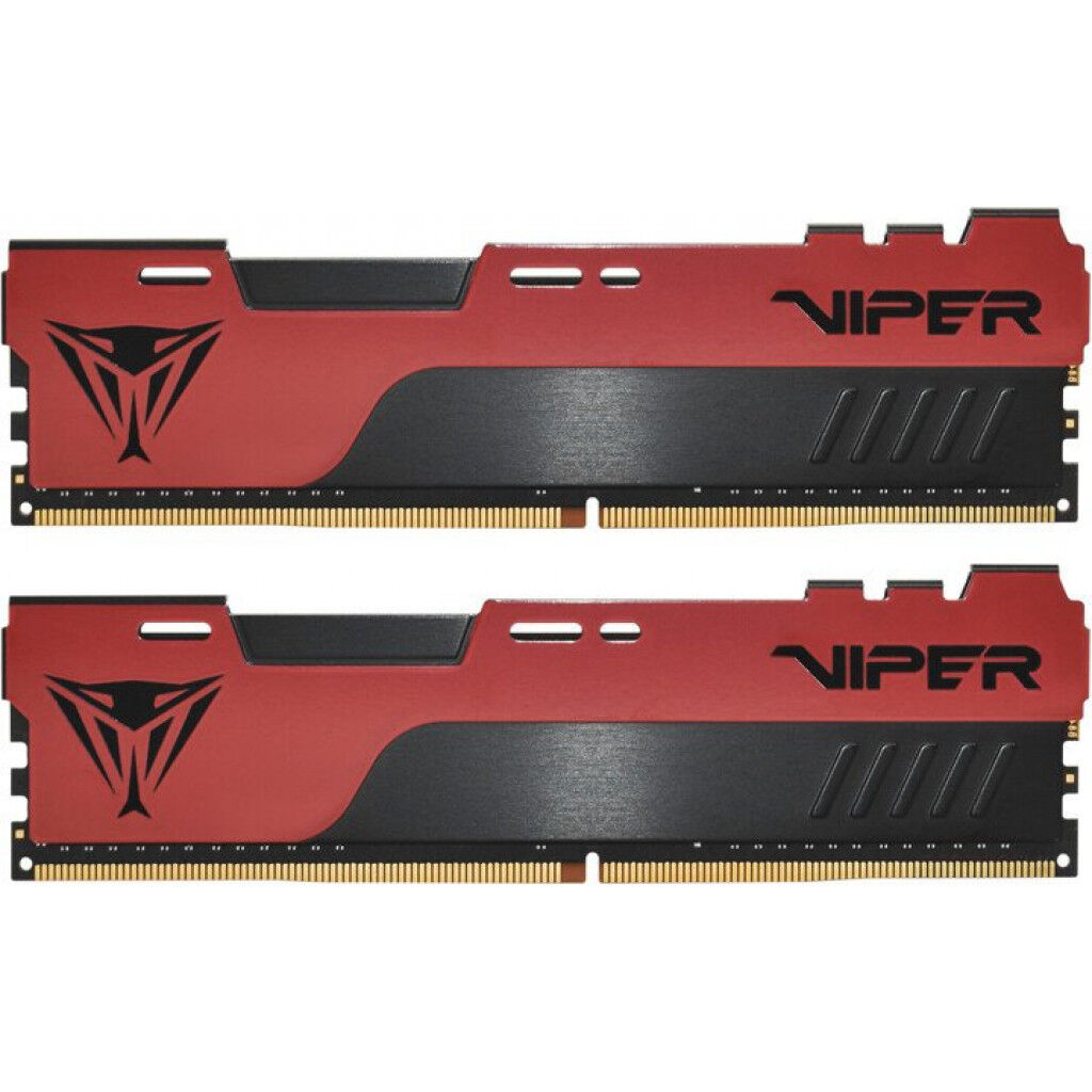 Модуль памяти для компьютера DDR4 32GB (2x16GB) 3600 MHz Viper Elite II Red Patriot (PVE2432G360C0K)