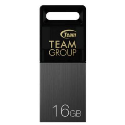 USB флеш накопитель Team 16GB M151 Gray USB 2.0 OTG (TM15116GC01)
