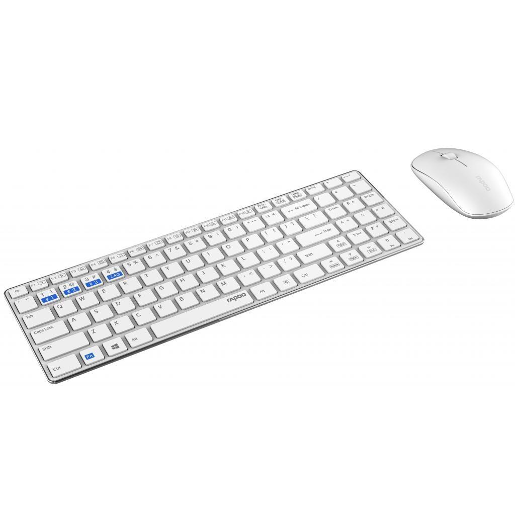 Комплект Rapoo 9300M White