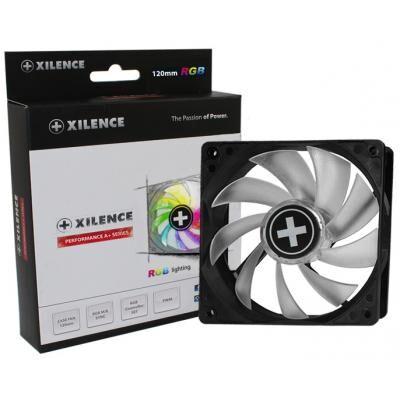 Кулер для корпуса Xilence LED+RGBSetController+M/Bsync (XF061)
