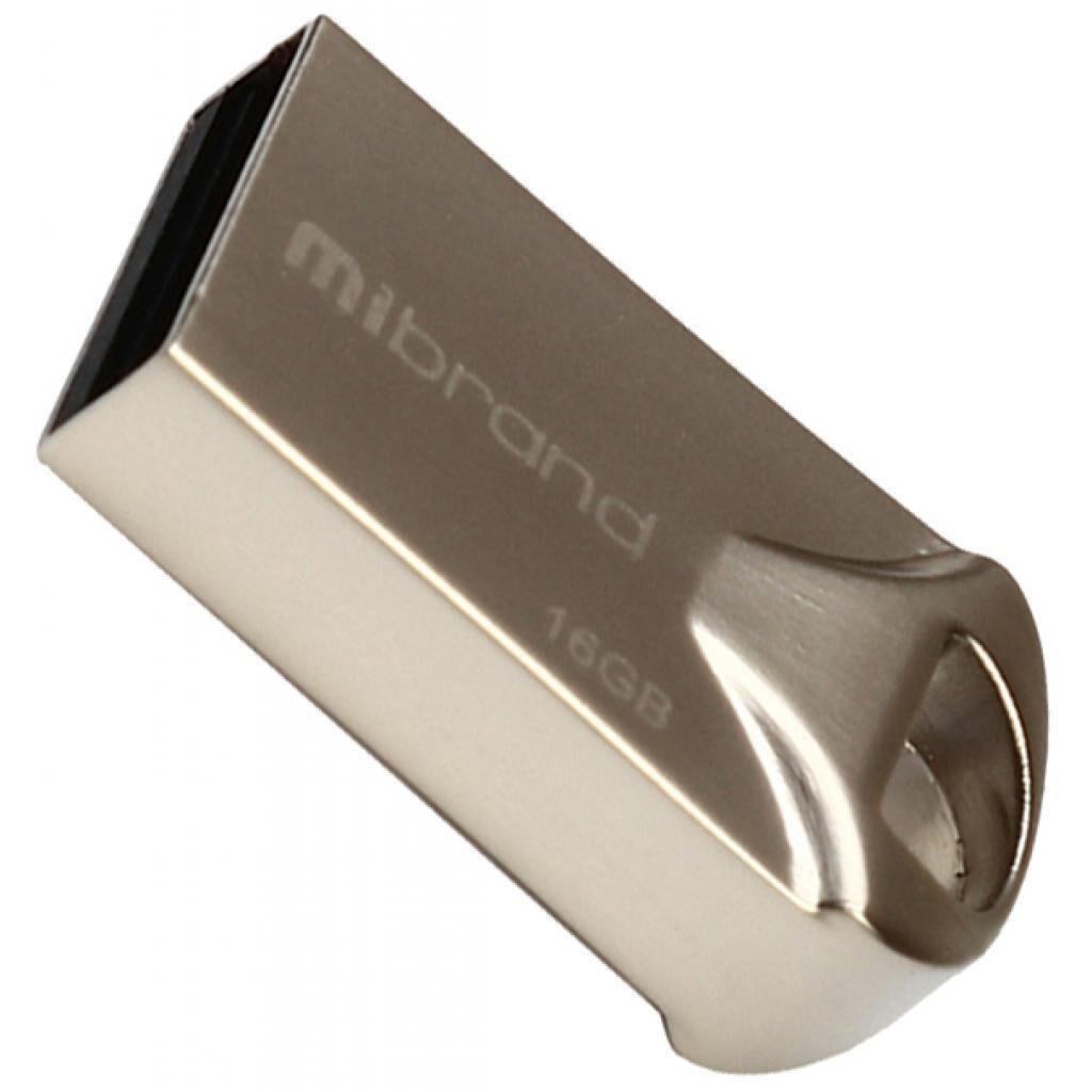USB флеш накопитель Mibrand 16GB Hawk Silver USB 2.0 (MI2.0/HA16M1S)
