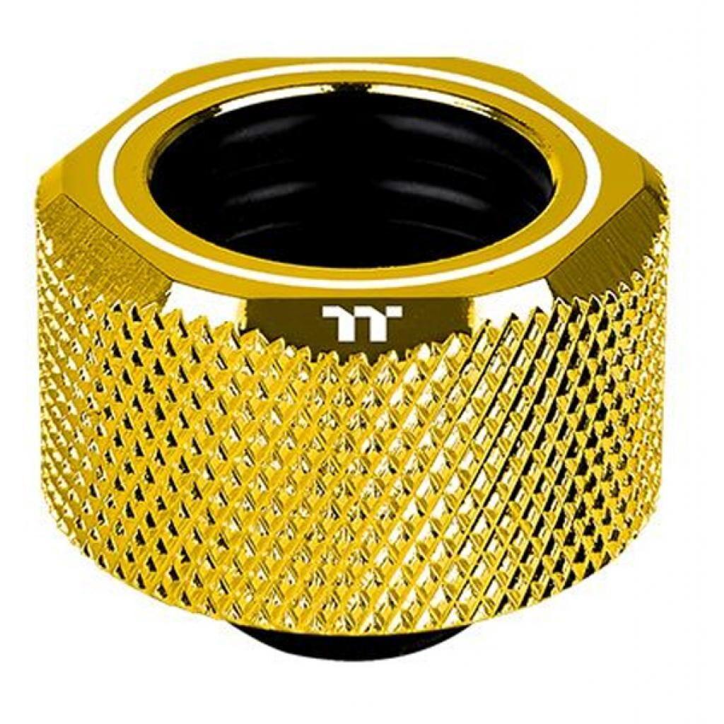 Фитинг для СВО ThermalTake Pacific C-Pro G1/4 PETG 16mm OD Compression - Gold/DIY LCS (CL-W265-CU00GD-A)