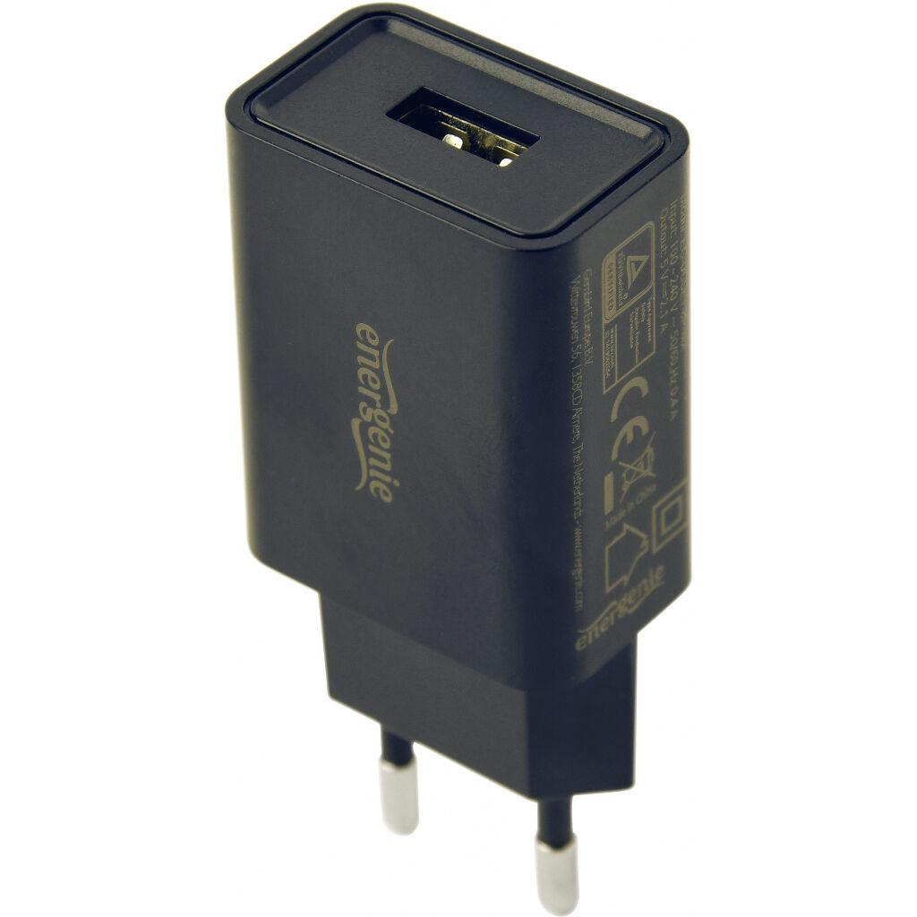 Зарядное устройство EnerGenie USB 2.1А + cable Lightning (EG-UCSET-8P-MX)