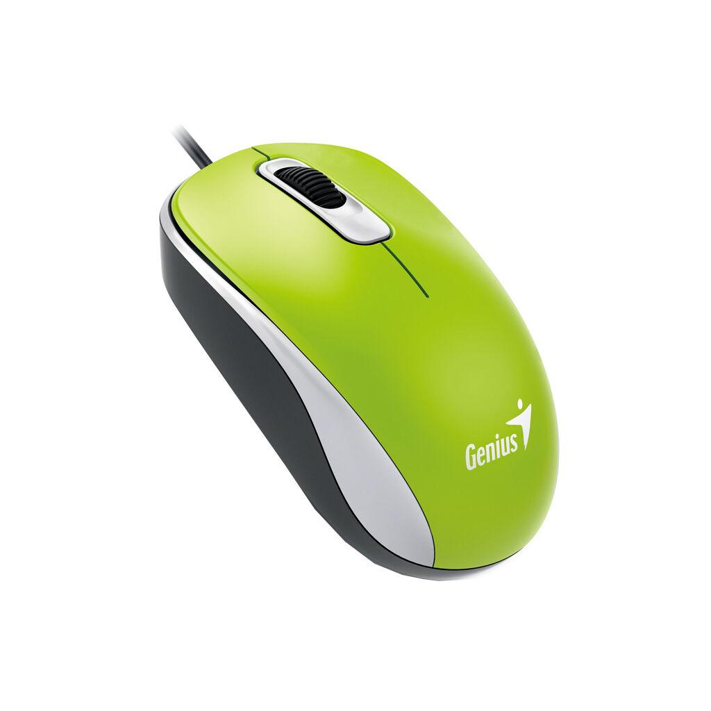 Мышка Genius DX-110 USB Green (31010116105)