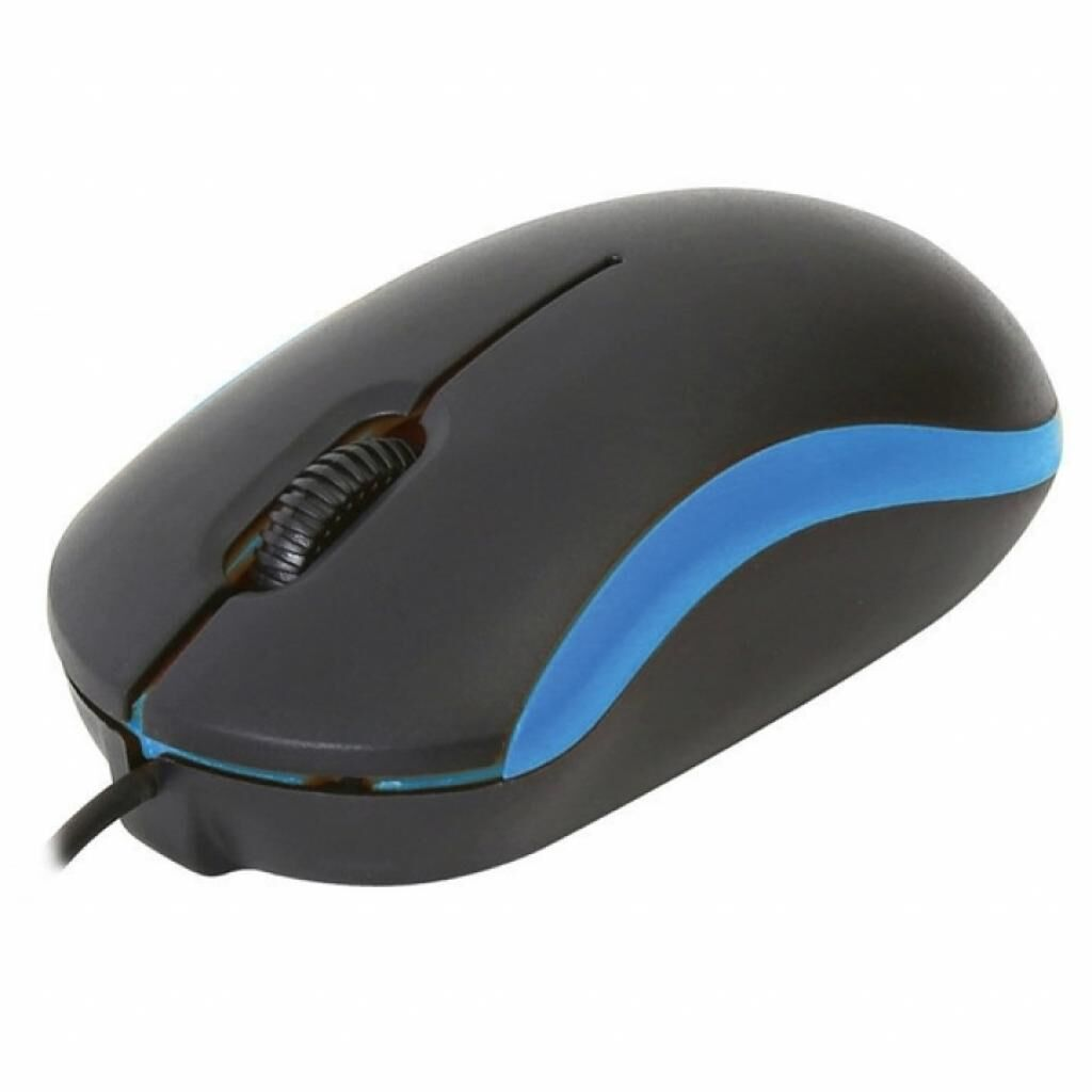 Мышка OMEGA OM-07 3D optical blue (OM07VBL)