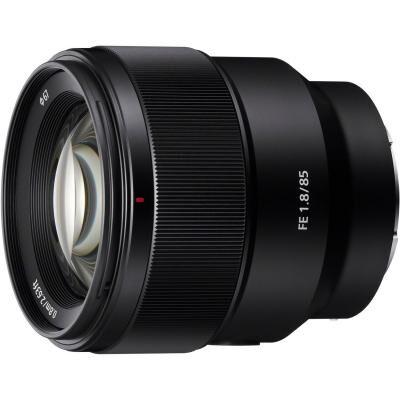 Объектив SONY 85mm f/1.8 для камер NEX FF (SEL85F18.SYX)
