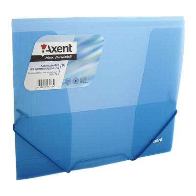 Папка на резинках Axent В5, transparent, blue (1505-22-А)