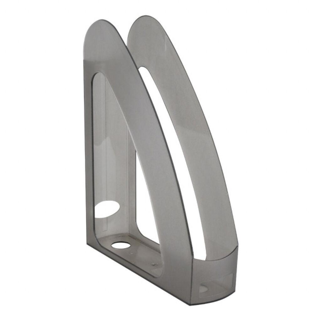 Лоток для бумаг Delta by Axent vertical, charcoal-grey (D4004-28)