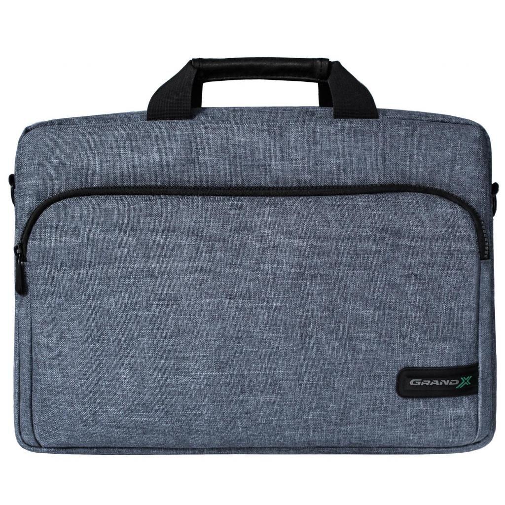 Сумка для ноутбука Grand-X 15.6'' SB-139 Grey (SB-139J)