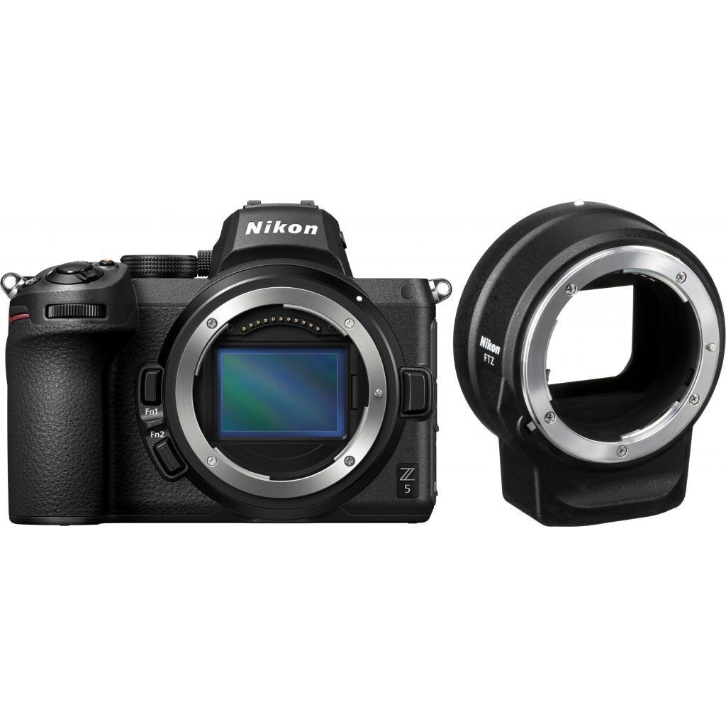 Цифровой фотоаппарат Nikon Z5 + FTZ Adapter Kit (VOA040K002)