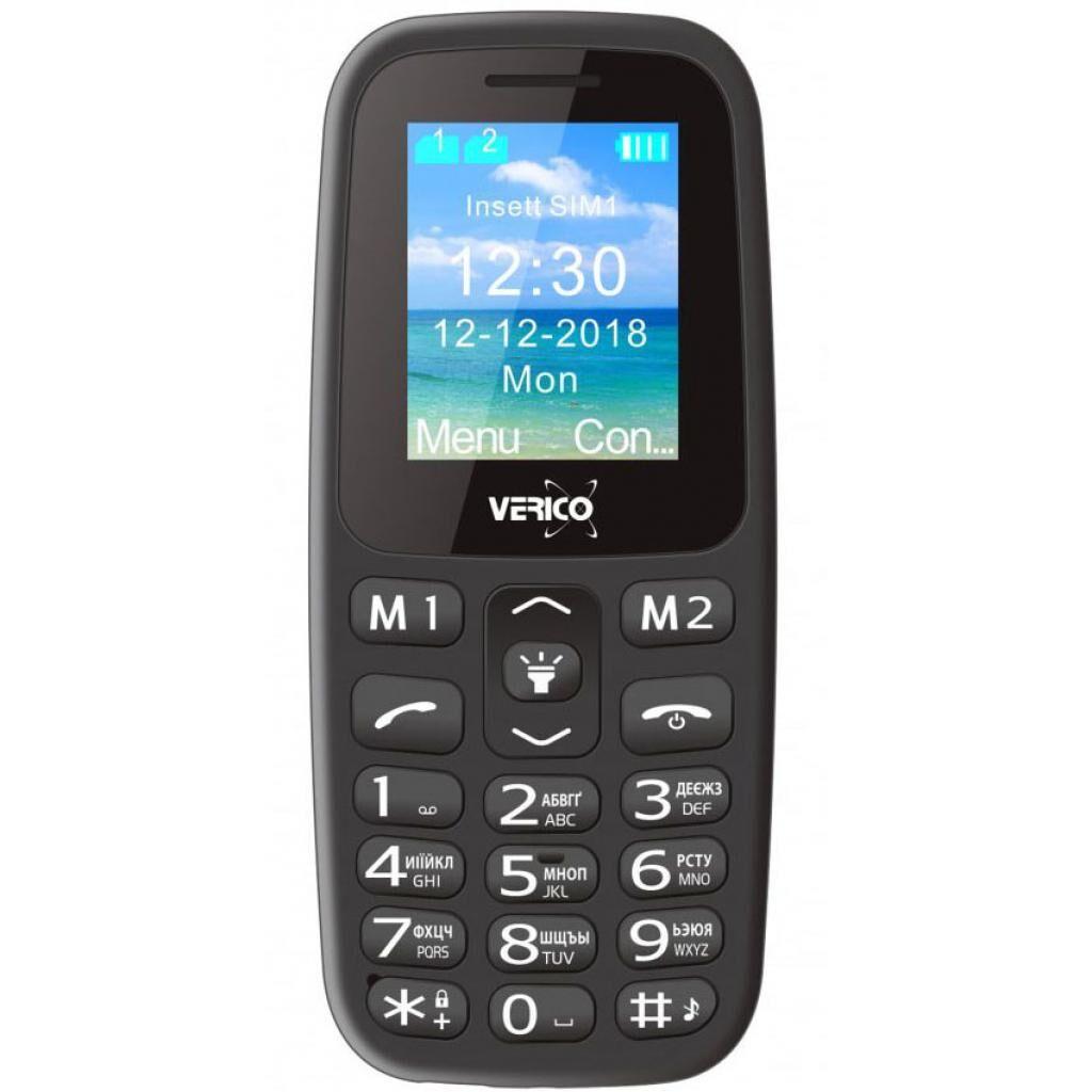 Мобильный телефон Verico Classic A183 Black (4713095608247)