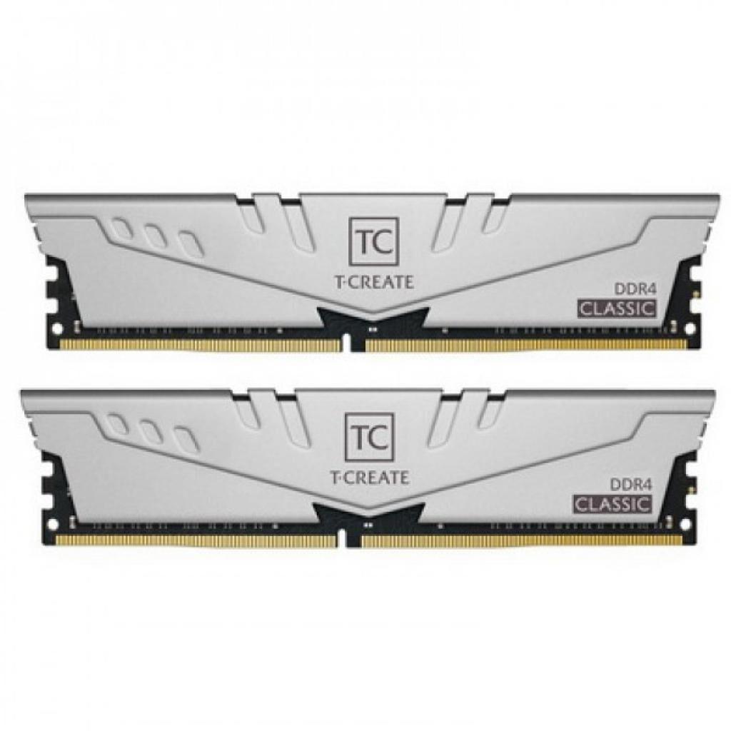 Модуль памяти для компьютера DDR4 32GB (2x16GB) 3200 MHz T-Create Classic 10L Gray Team (TTCCD432G3200HC22DC01)