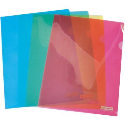 Папка – уголок Buromax А4 transparent, assorted colors (BM.3853-99)