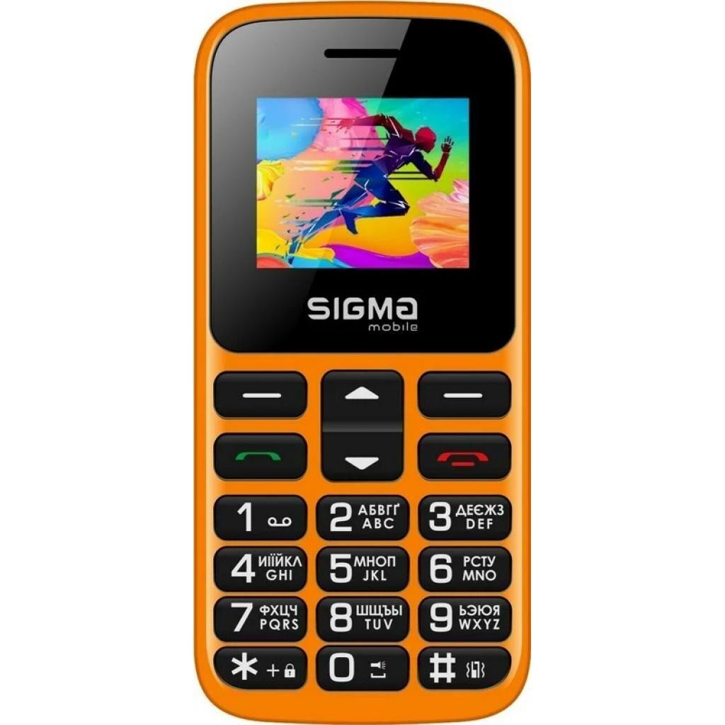 Мобильный телефон Sigma Comfort 50 HIT2020 Оrange (4827798120934)