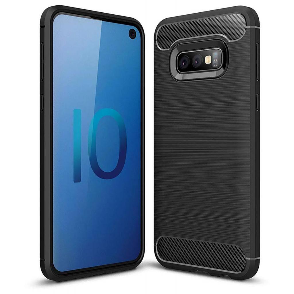 Чехол для моб. телефона Laudtec для SAMSUNG Galaxy S10e Carbon Fiber (Black) (LT-GS10eB)