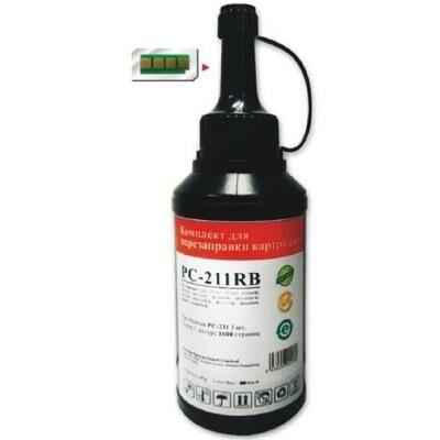Тонер Pantum PC-230R (1тонер + 1чип) (PC-211RB)