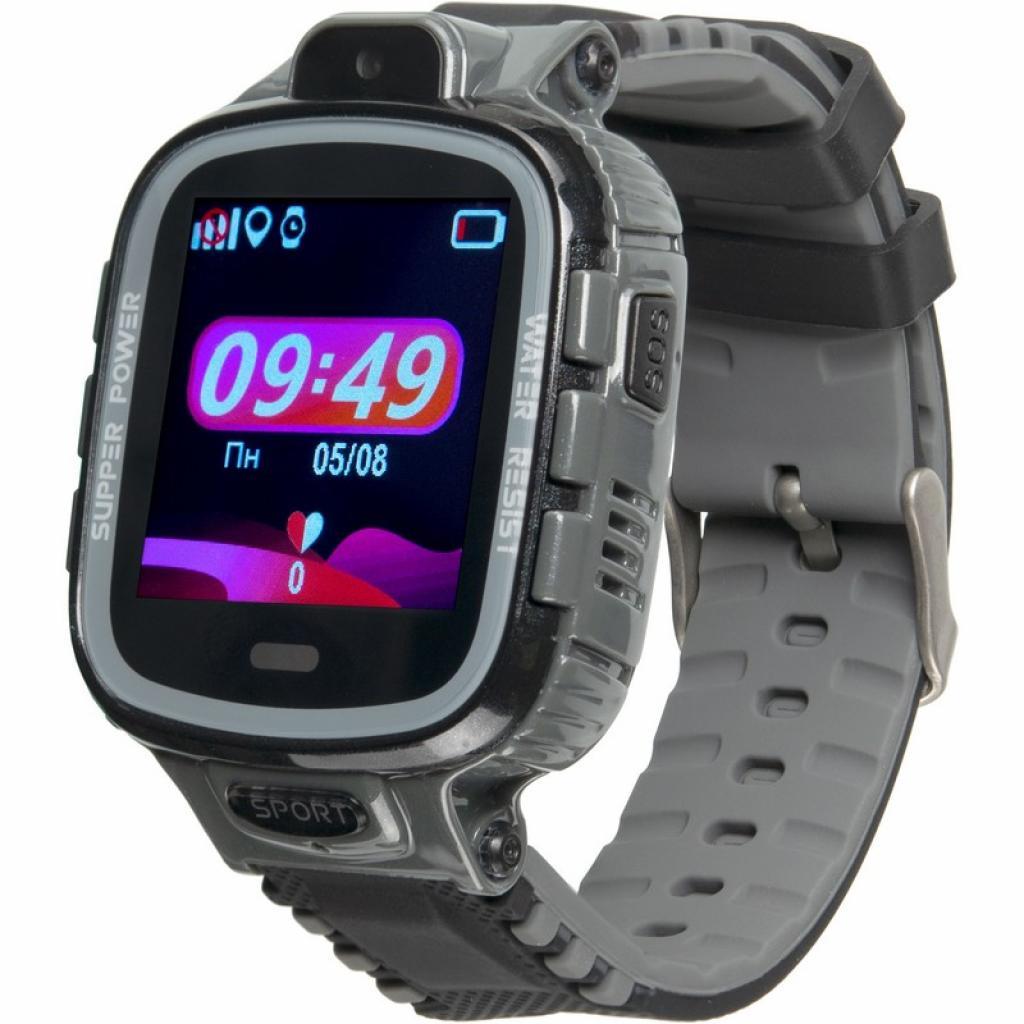 Смарт-часы Gelius Pro GP-PK001 (PRO KID) Black/Silver Kids watch, GPS tracker (ProGP-PK001(PROKID)Black/Silver)