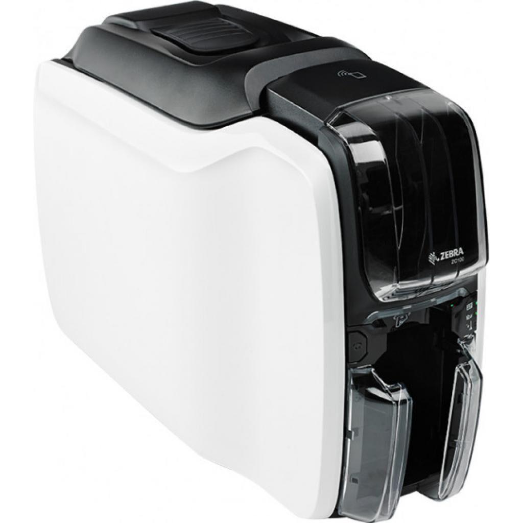 Принтер пластиковых карт Zebra ZС100 USB односторонний (ZC11-0000000EM00)