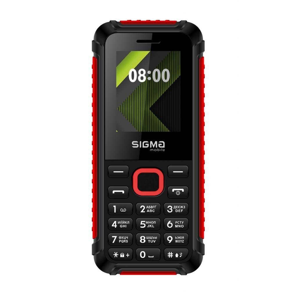 Мобильный телефон Sigma X-style 18 Track Black-Red (4827798854426)