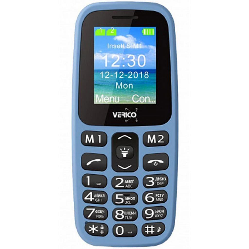 Мобильный телефон Verico Classic A183 Blue (4713095608254)