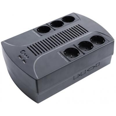Источник бесперебойного питания LogicPower 650VA-6PS (4324)