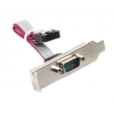 Кабель для передачи данных 1xCOM Low profile Cablexpert (CC-DB9ML-01)