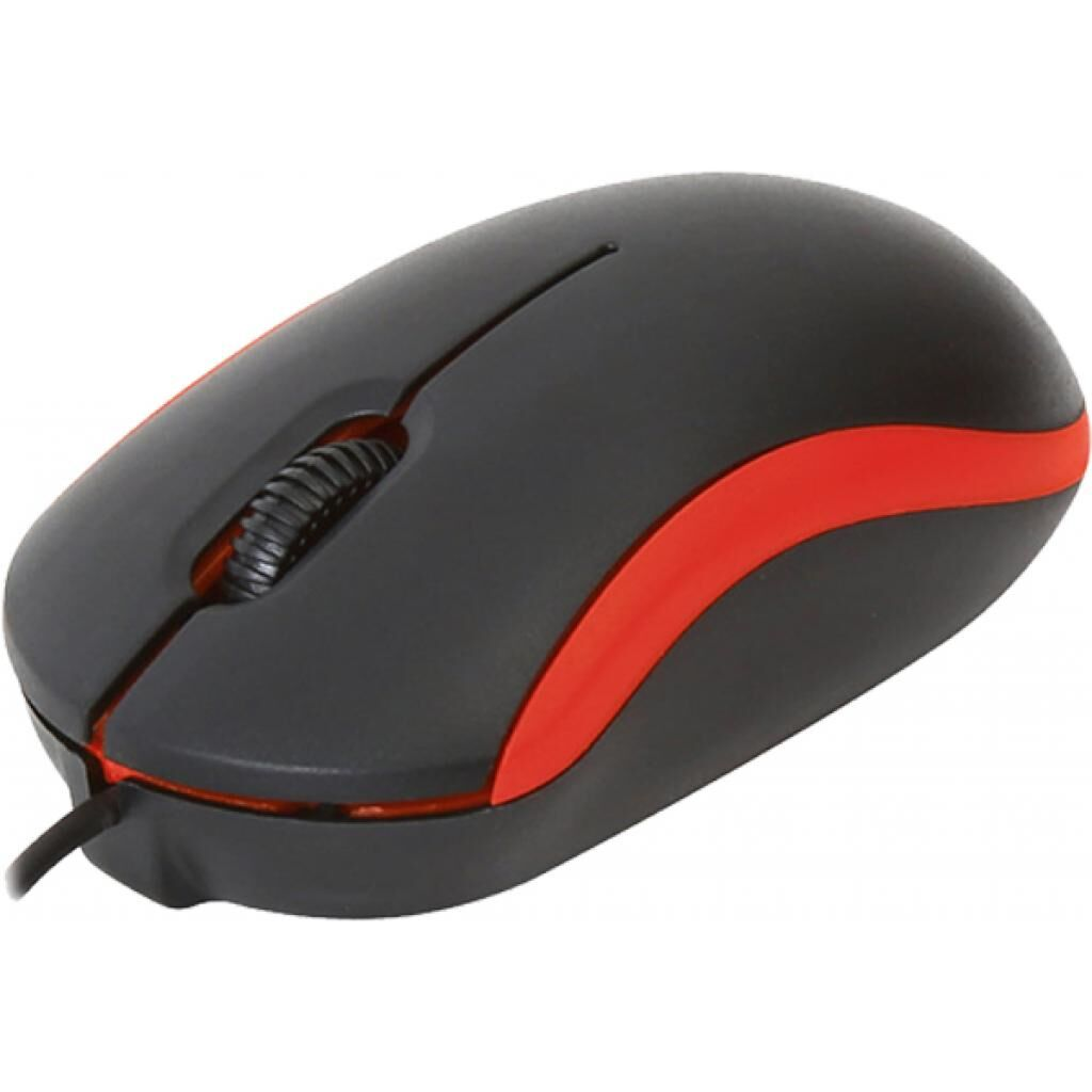 Мышка OMEGA OM-07 3D optical red (OM07VR)