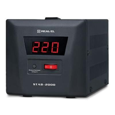 Стабилизатор REAL-EL STAB-2000 (EL122400009)