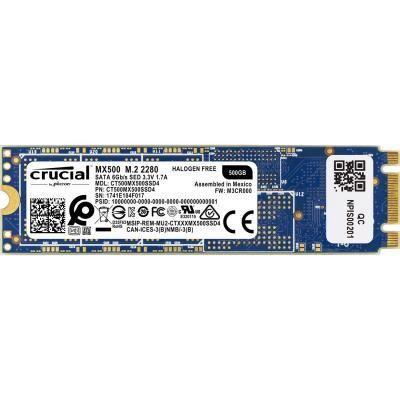 Накопитель SSD M.2 2280 500GB MICRON (CT500MX500SSD4)