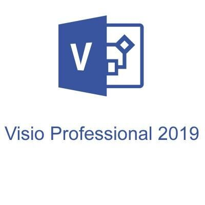 Офисное приложение Microsoft Visio Pro 2019 Win All Lng PKL Online DwnLd C2R NR (D87-07425)