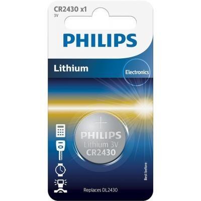 Батарейка PHILIPS CR2430 Lithium * 1 (CR2430/00B)