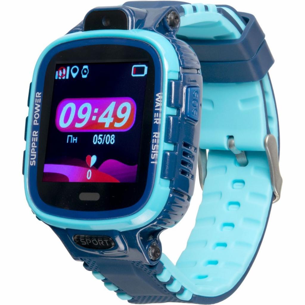 Смарт-часы Gelius Pro GP-PK001 (PRO KID) Blue Kids smart watch, GPS tracker (ProGP-PK001(PROKID)Blue)