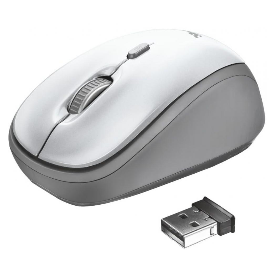 Мышка Trust Yvi Wireless White (23386)
