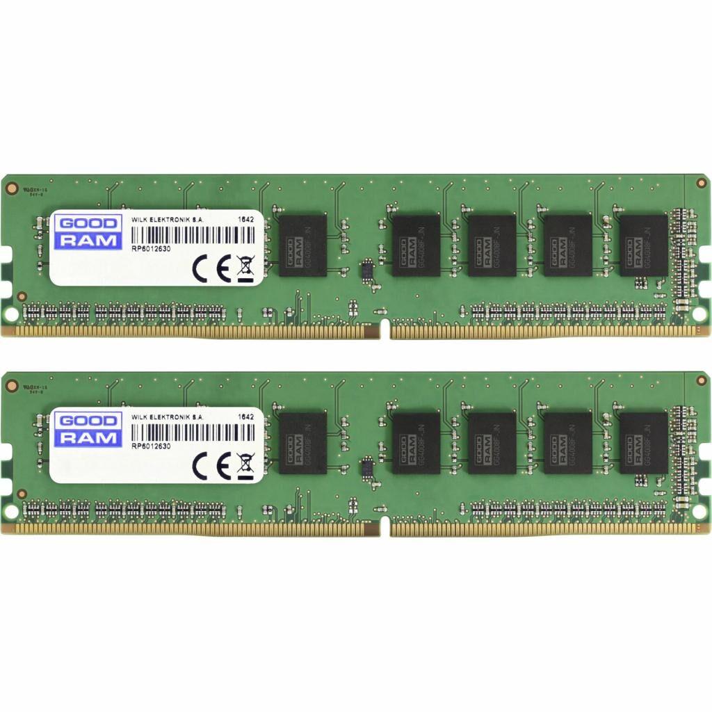 Модуль памяти для компьютера DDR4 16GB (2x8GB) 2400 MHz GOODRAM (GR2400D464L17S/16GDC)